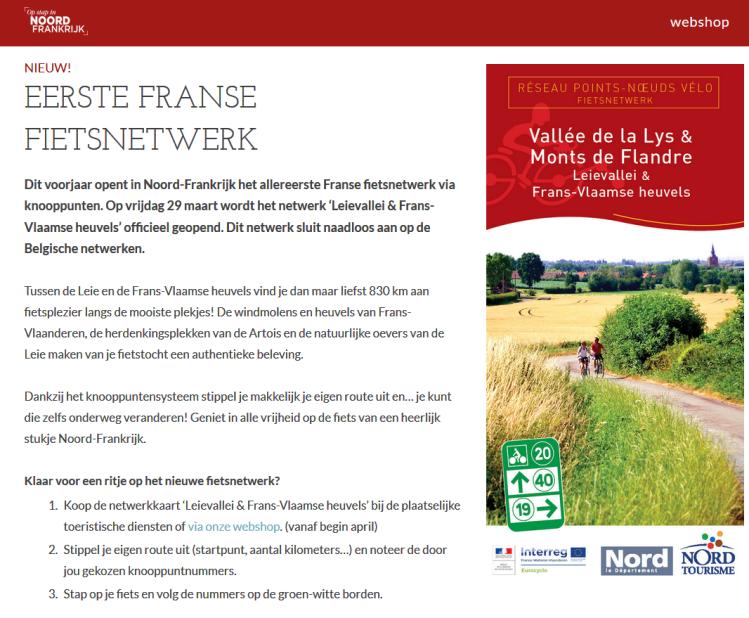 fietsnetwerk frans-vlaanderen