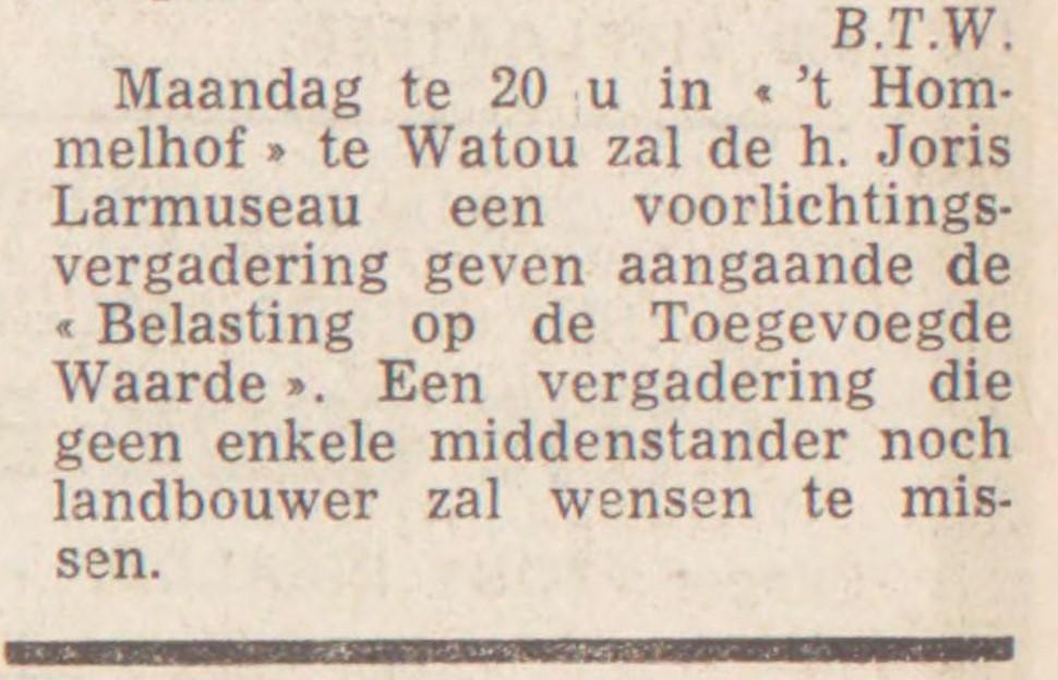 50 jaar geleden juni 1969 (2)