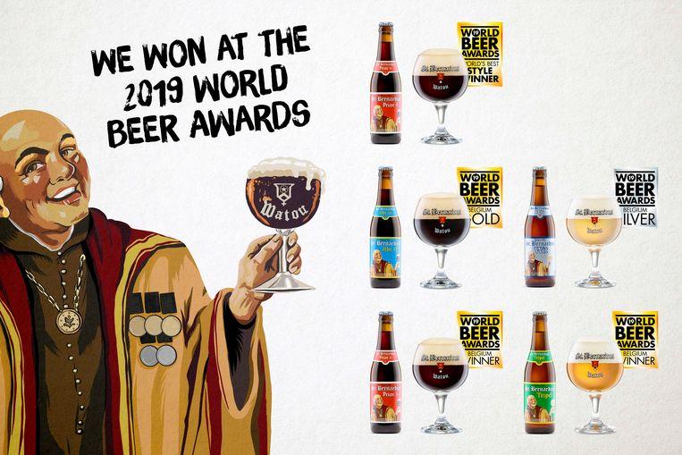 beer awards bernardus