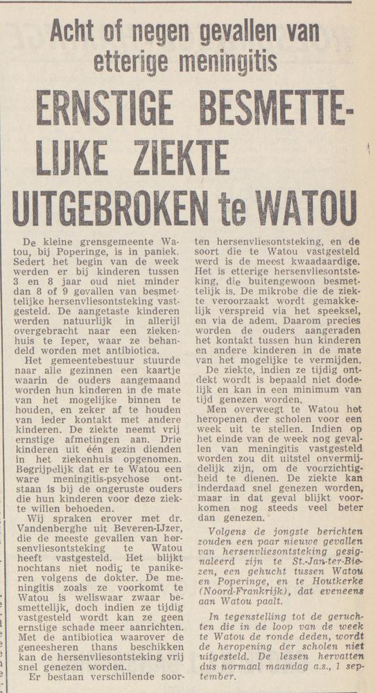 50 jaar geleden 1969